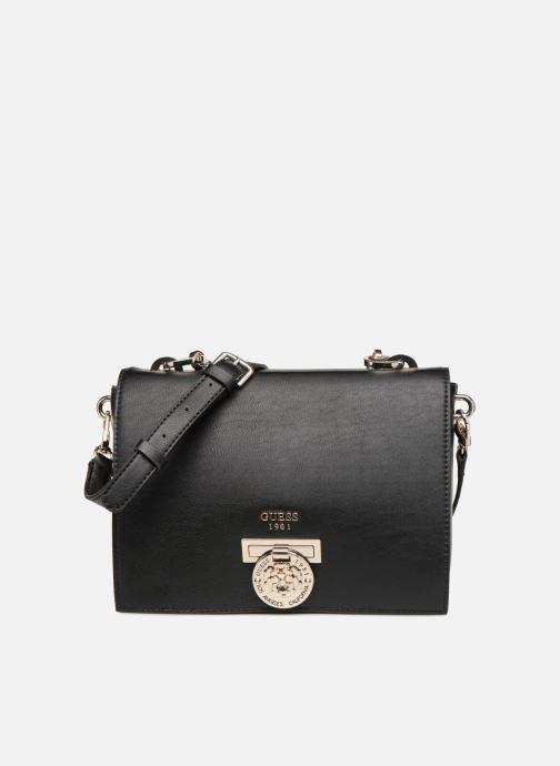 Handtassen Guess MARLENE SHOULDER BAG Zwart detail