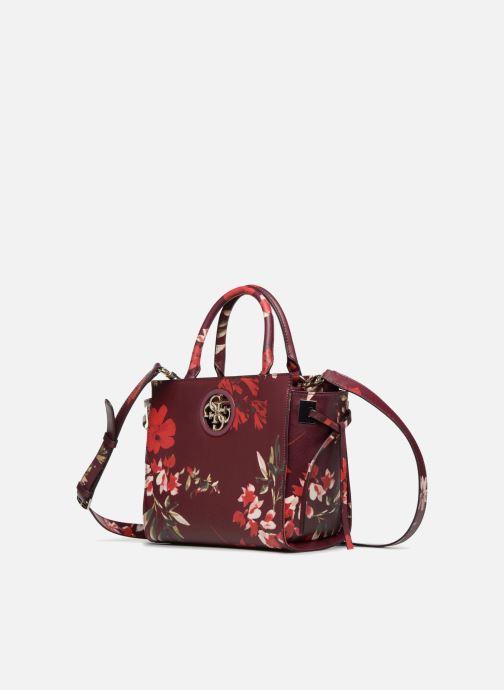 Handbags Guess OPEN ROAD SATCHEL Purple model view