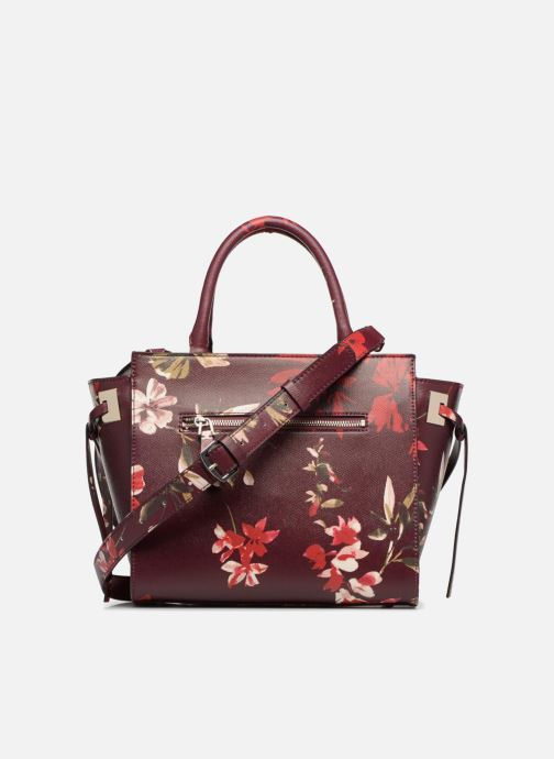 Handbags Guess OPEN ROAD SATCHEL Purple front view