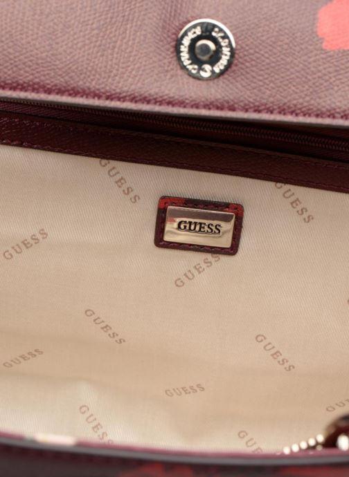 Handbags Guess OPEN ROAD SATCHEL Purple back view