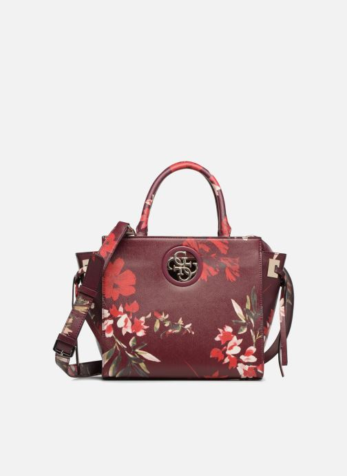 Sacs à main Guess OPEN ROAD SATCHEL Violet vue détail/paire