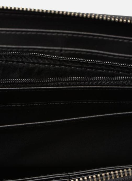 Petite Maroquinerie Guess OPEN ROAD LARGE ZIP AROUND Noir vue derrière