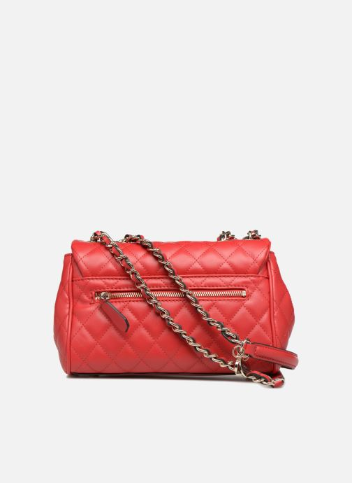 Sacs à main Guess SWEET CANDY FLAP CROSSBODY Rouge vue face
