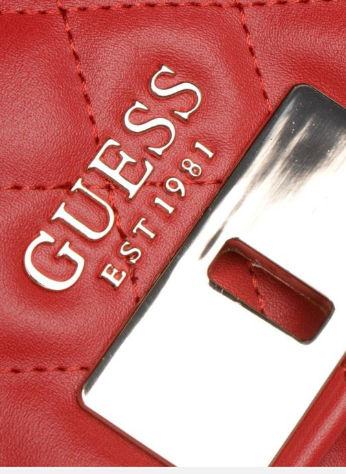 Sacs à main Guess SWEET CANDY FLAP CROSSBODY Rouge vue gauche