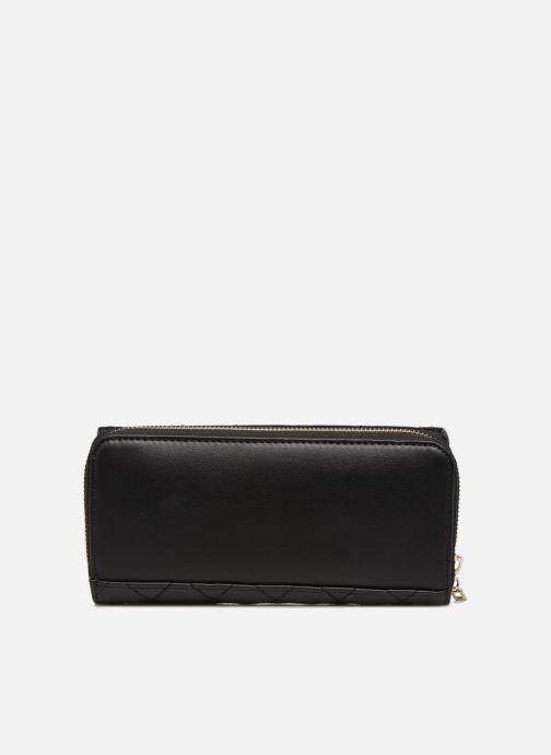 Portemonnaies & Clutches Guess SWEET CANDY LARGE CLUTCH ORGANIZER schwarz ansicht von vorne