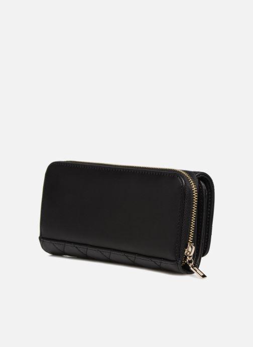 Portemonnaies & Clutches Guess SWEET CANDY LARGE CLUTCH ORGANIZER schwarz ansicht von rechts