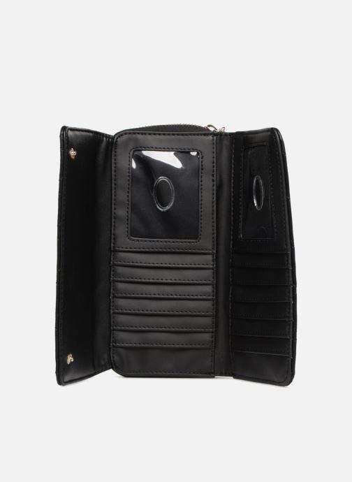 Portemonnaies & Clutches Guess SWEET CANDY LARGE CLUTCH ORGANIZER schwarz ansicht von links