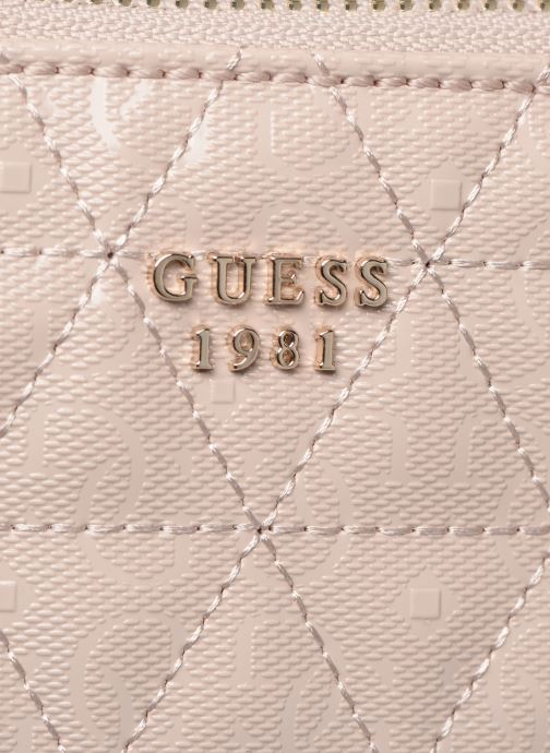 Håndtasker Guess TABBI STATUS SATCHEL Pink se fra venstre