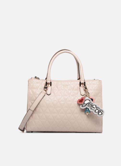 Håndtasker Guess TABBI STATUS SATCHEL Pink detaljeret billede af skoene