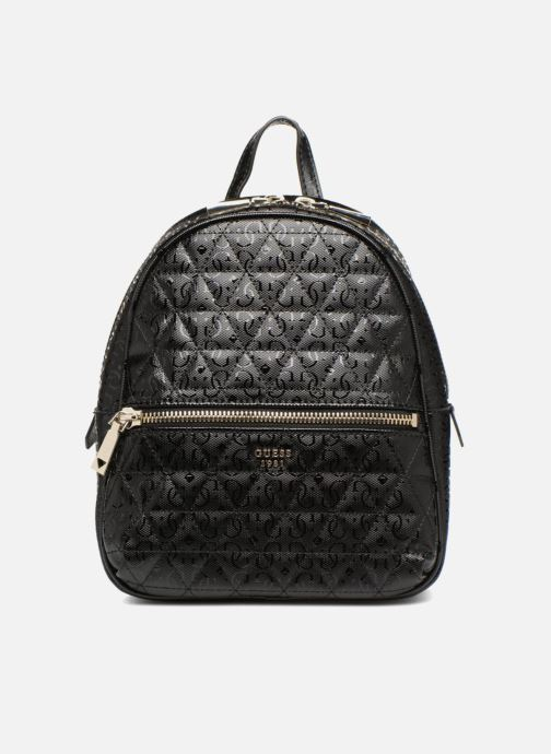 Mochilas Guess TABBI MINI BACKPACK SATCHEL Negro vista de detalle / par