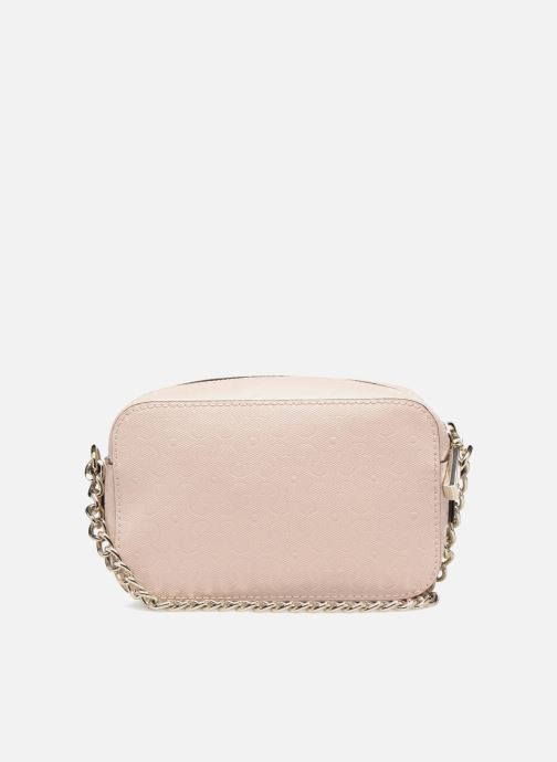 Bolsos Clutch Guess TABBI MINI CROSSBODY Rosa vista de frente