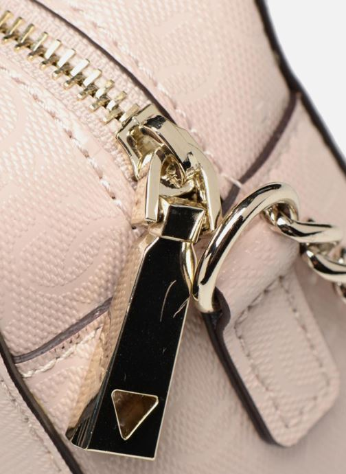 Bolsos Clutch Guess TABBI MINI CROSSBODY Rosa vista lateral izquierda