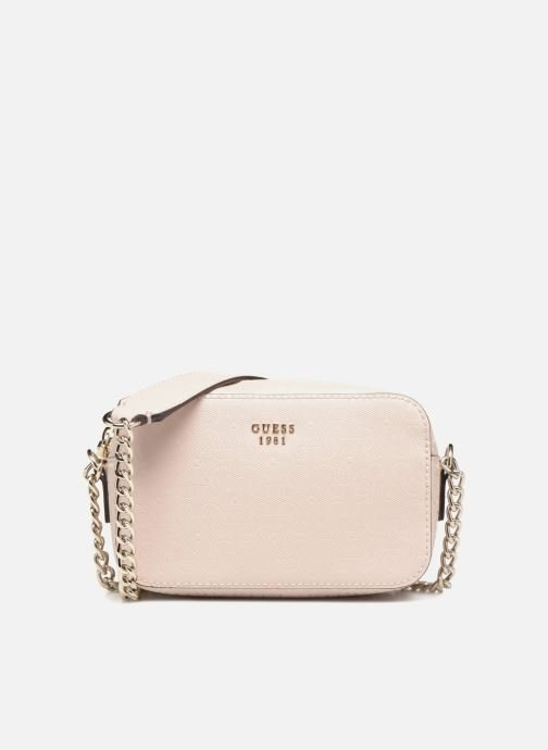 Bolsos Clutch Guess TABBI MINI CROSSBODY Rosa vista de detalle / par