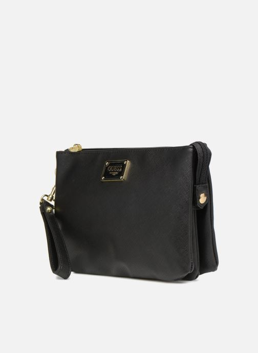 Clutchtasker Guess MARVELLOUS CROSSBODY Sort se skoene på