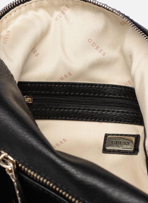 Handtassen Guess TALLAN HOBO Zwart achterkant