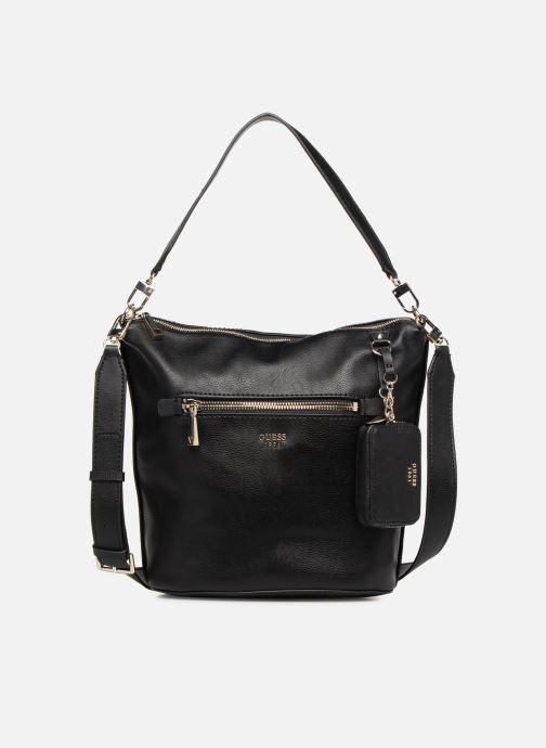 Handtassen Guess TALLAN HOBO Zwart detail