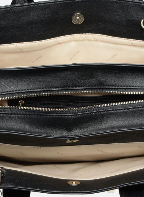 Handtassen Guess TALLAN GIRLFRIEND SATCHEL Zwart achterkant