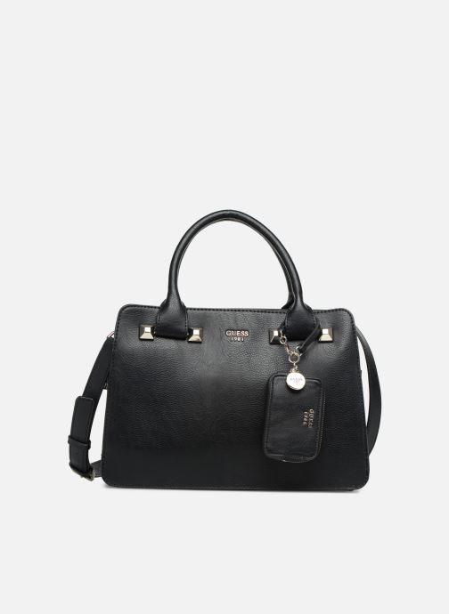 Handtassen Guess TALLAN GIRLFRIEND SATCHEL Zwart detail