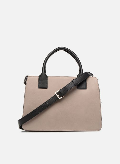 Sacs à main Guess TALLAN GIRLFRIEND SATCHEL Argent vue face