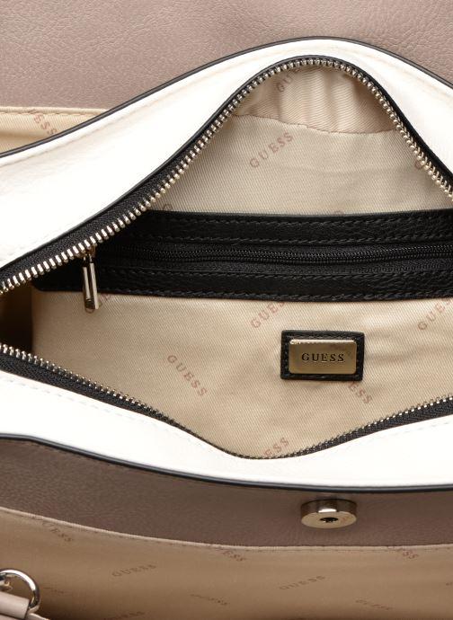 Handtassen Guess TALLAN GIRLFRIEND SATCHEL Zilver achterkant
