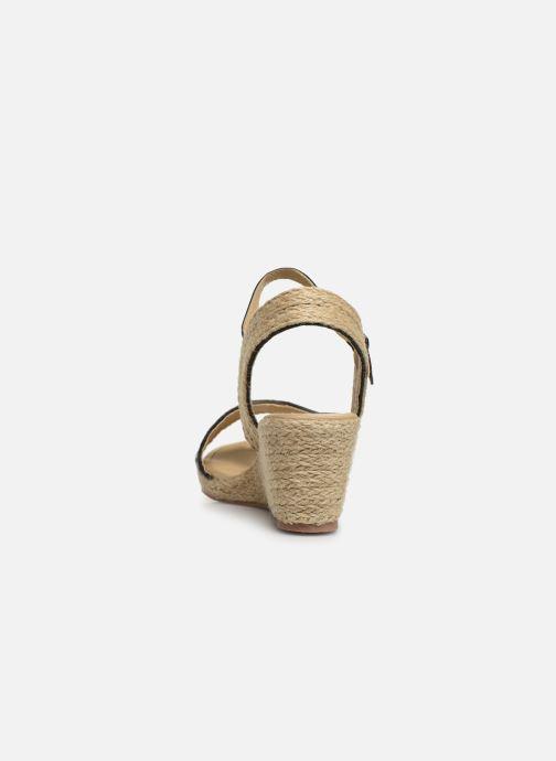 Espadrilles I Love Shoes Kitrina Zwart rechts