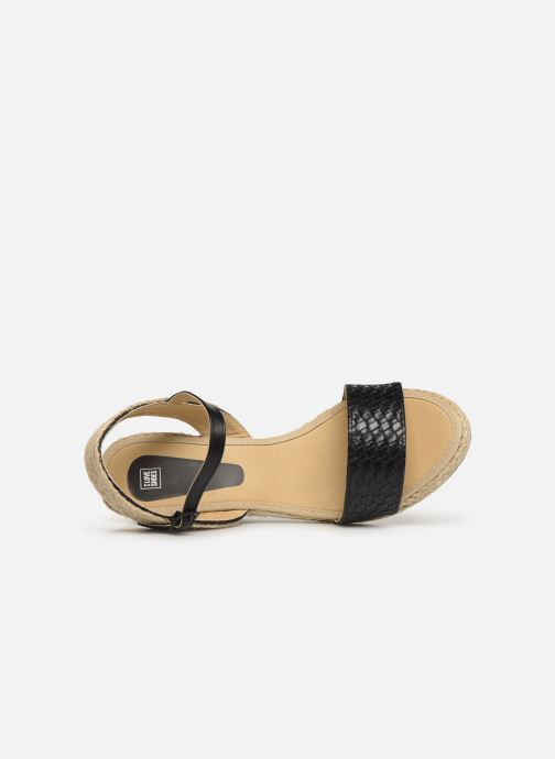 Espadrilles I Love Shoes Kitrina Zwart links