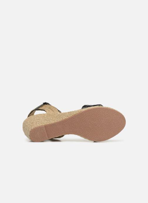 Espadrilles I Love Shoes Kitrina Zwart boven