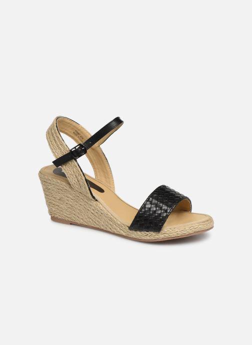 Espadrilles I Love Shoes Kitrina Zwart detail
