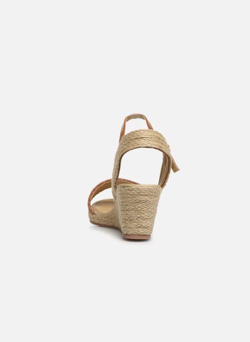 Espadrilles I Love Shoes Kitrina Marron vue droite