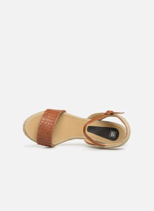 Espadrilles I Love Shoes Kitrina Marron vue gauche