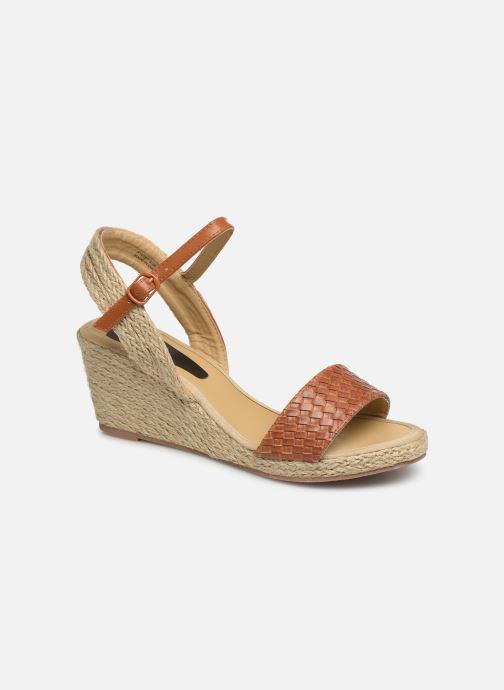 Espadrilles I Love Shoes Kitrina Marron vue détail/paire