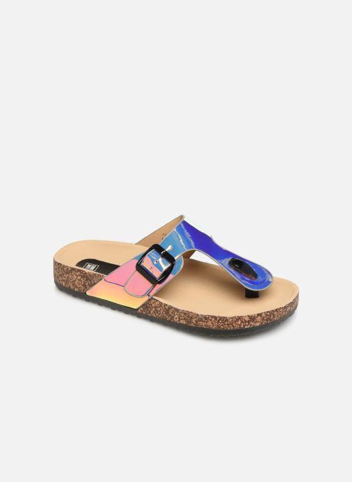 Mules et sabots I Love Shoes Kifoni Multicolore vue détail/paire