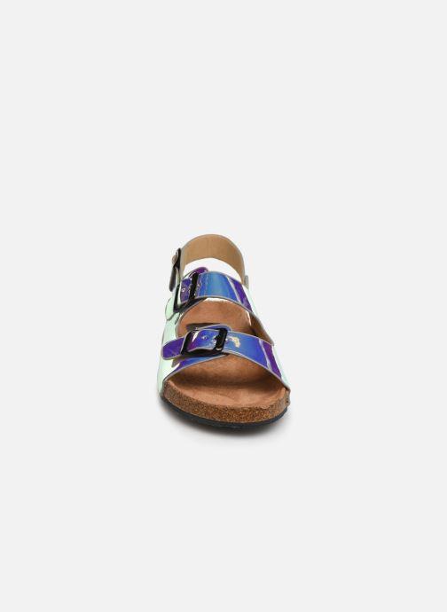 Sandales et nu-pieds I Love Shoes Kidina Argent vue portées chaussures
