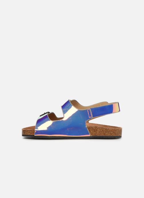 Sandales et nu-pieds I Love Shoes Kidina Argent vue face
