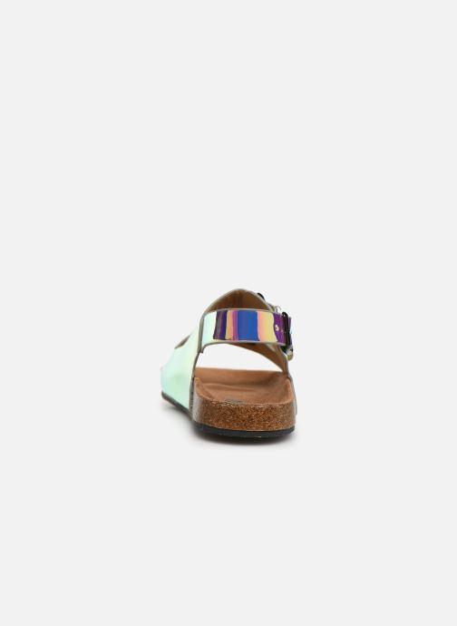 Sandalias I Love Shoes Kidina Plateado vista lateral derecha