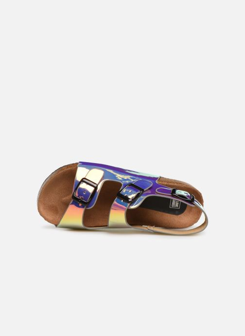 Sandalias I Love Shoes Kidina Plateado vista lateral izquierda