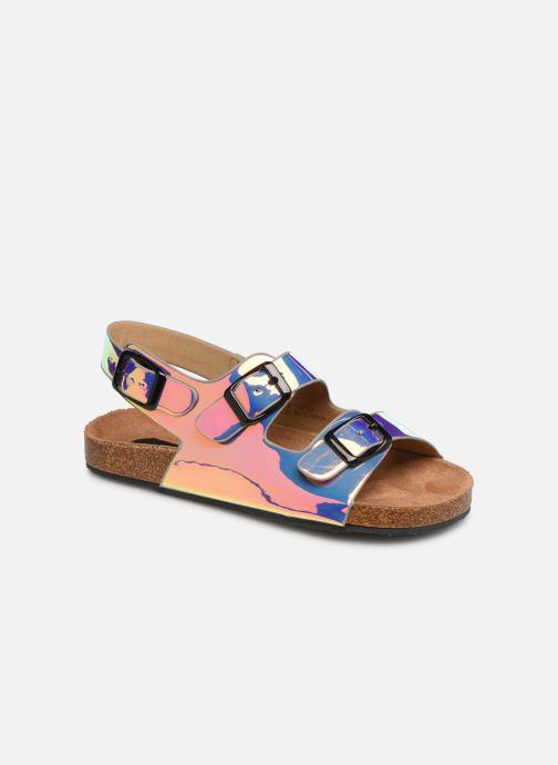 Sandalias I Love Shoes Kidina Plateado vista de detalle / par