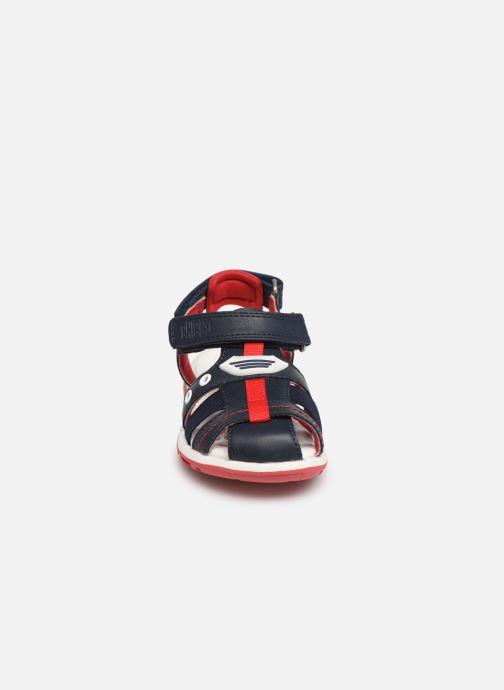 Sandales et nu-pieds Chicco Cimber Bleu vue portées chaussures