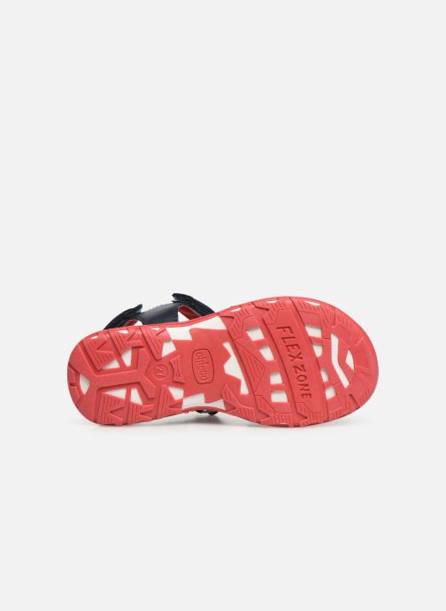 Sandali e scarpe aperte Chicco Cimber Azzurro immagine dall'alto