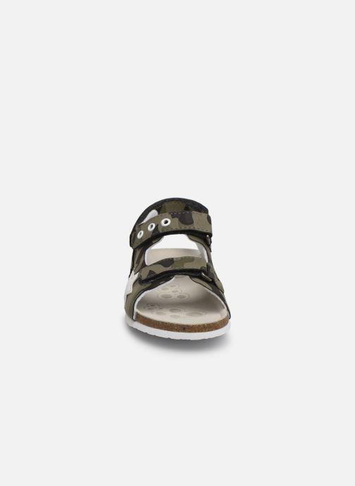 Sandales et nu-pieds Chicco Helvio Vert vue portées chaussures