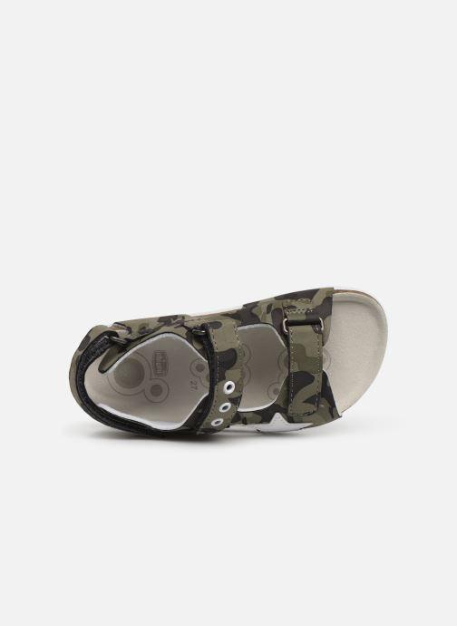 Sandales et nu-pieds Chicco Helvio Vert vue gauche