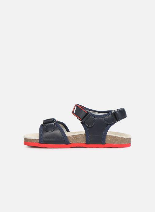 Sandales et nu-pieds Chicco Hemilio Bleu vue face