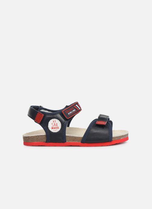 Sandales et nu-pieds Chicco Hemilio Bleu vue derrière