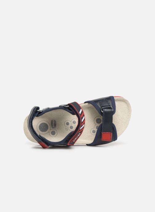 Sandales et nu-pieds Chicco Hemilio Bleu vue gauche