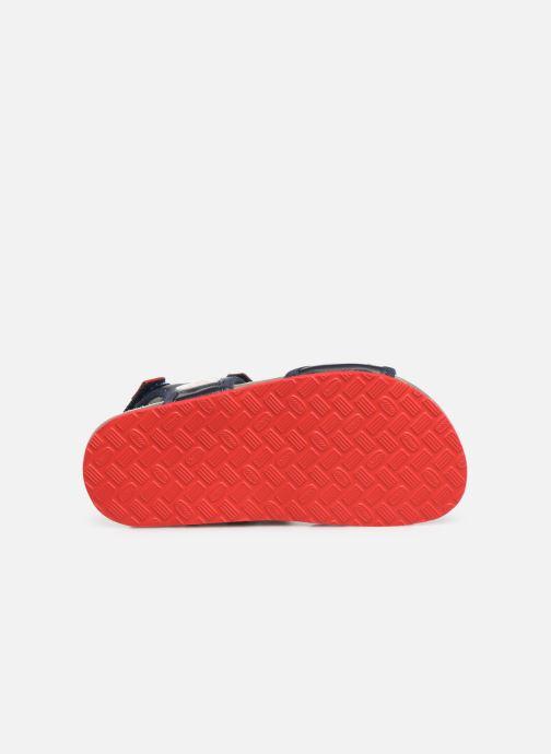 Sandales et nu-pieds Chicco Hemilio Bleu vue haut