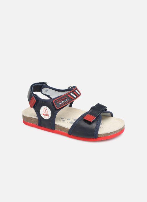 Sandales et nu-pieds Chicco Hemilio Bleu vue détail/paire