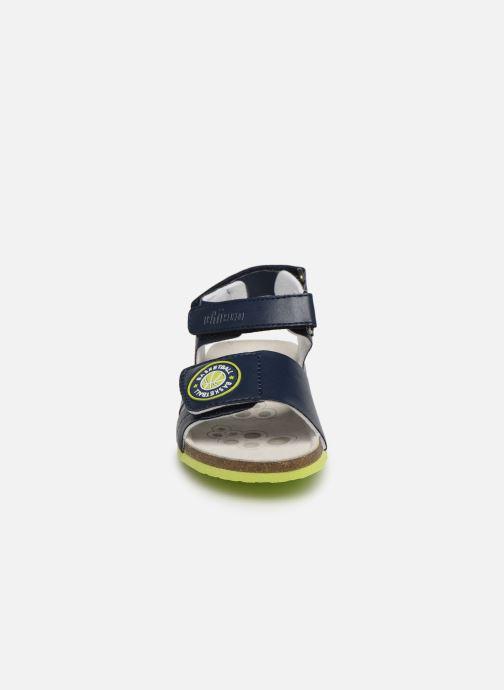 Sandales et nu-pieds Chicco Henry Bleu vue portées chaussures