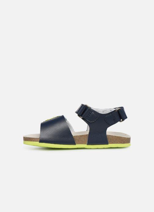 Sandales et nu-pieds Chicco Henry Bleu vue face