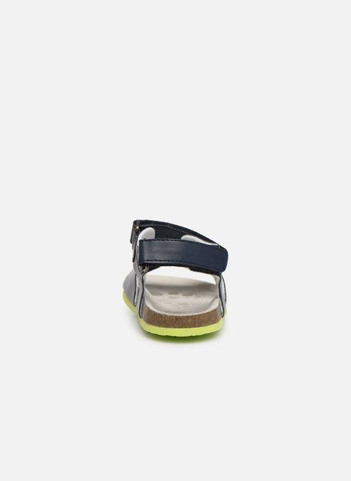 Sandales et nu-pieds Chicco Henry Bleu vue droite