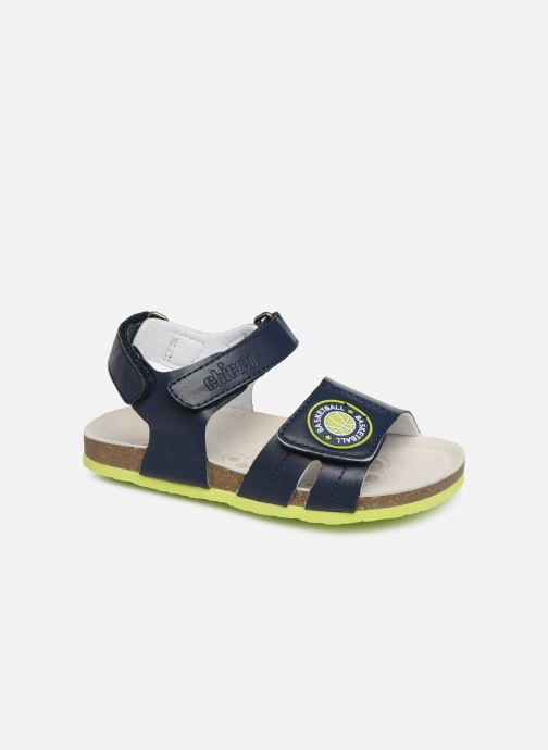 Sandales et nu-pieds Chicco Henry Bleu vue détail/paire